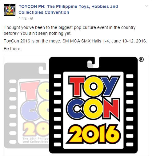 Toycon 2016 FB