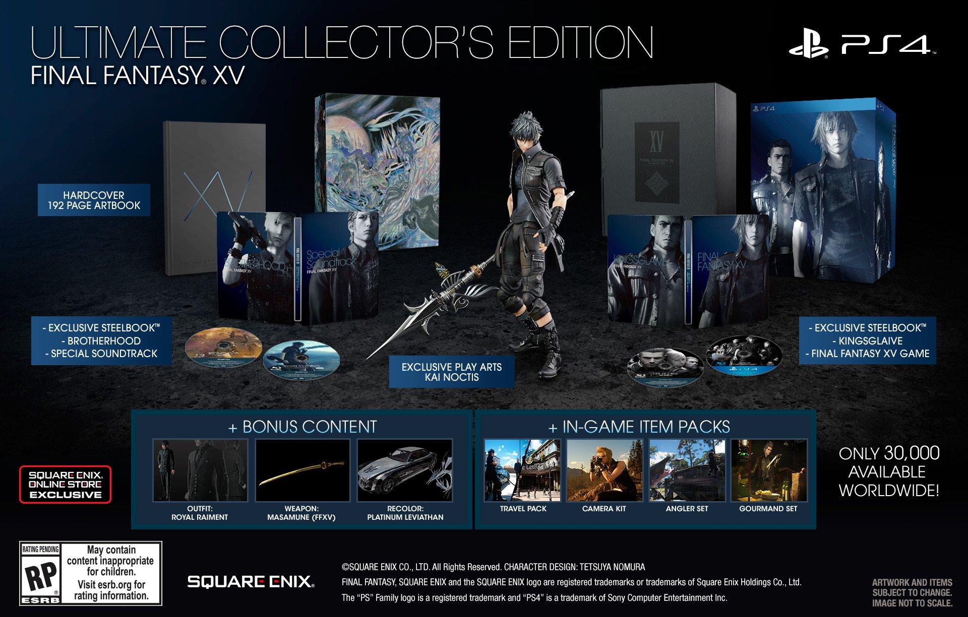 Final Fantasy XV Ultimate Edition