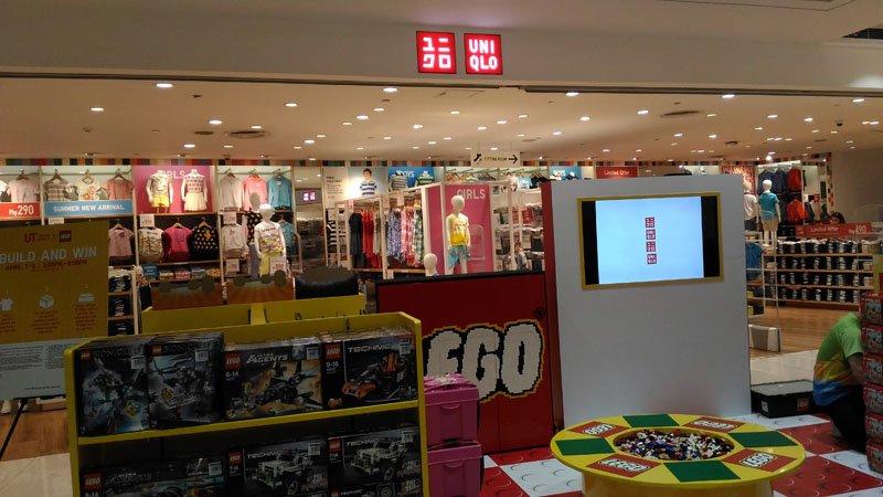 Uniqlo x Lego In-store location