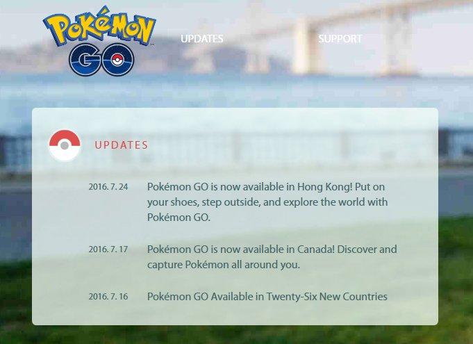 Hong Kong Pokemon Go Release Header Image DAGeeks