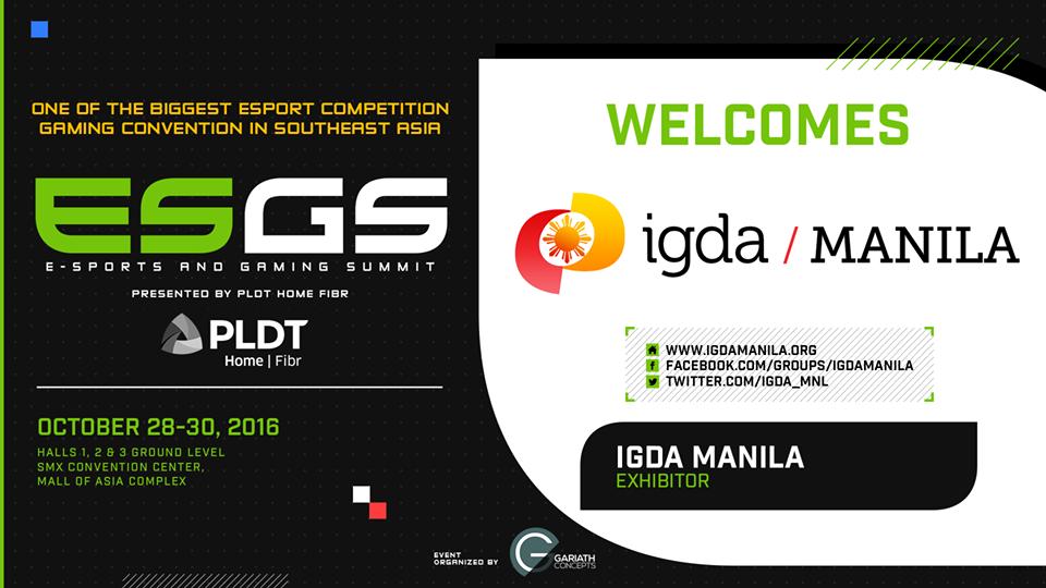 IGDA Manila Image ESGS 2016 DAGeeks