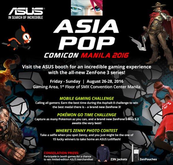 Asus AsiaPOP Comic Con Poster Image DAGeeks