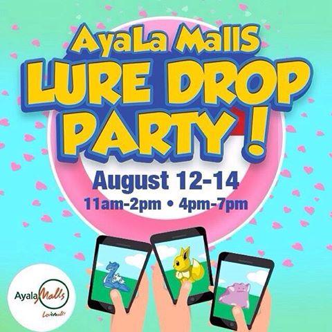 Ayala Malls Lure Drop Party Image DAGeeks