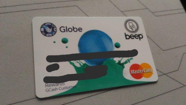 Globe Rewards Card Beep Mastercard Image DAGeeks