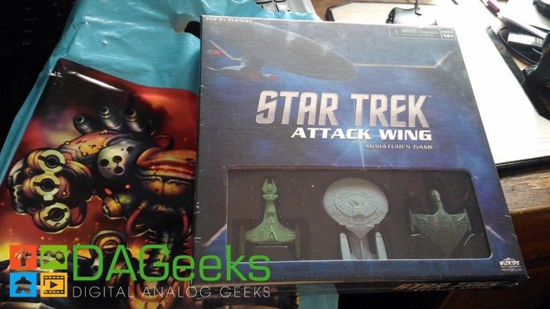 Star Trek Attack Wing Starter Set Image Ludus Grab Bag APCC 2016 DAGeeks