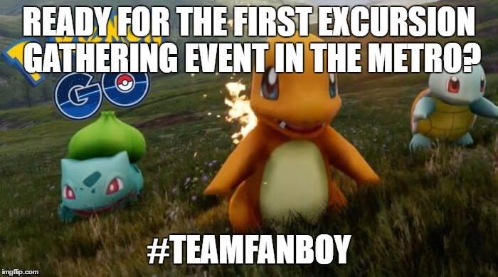 Team Fanboy Pokemon Party Go Explore Image DAGeeks