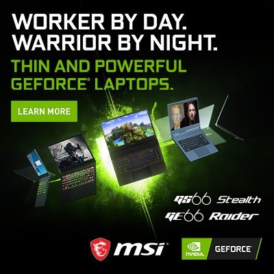 MSI Notebook Campaign 2020