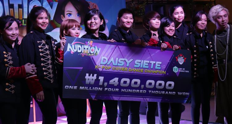 Daisy Siete Representing Philippines in K-Pop Cover Dance