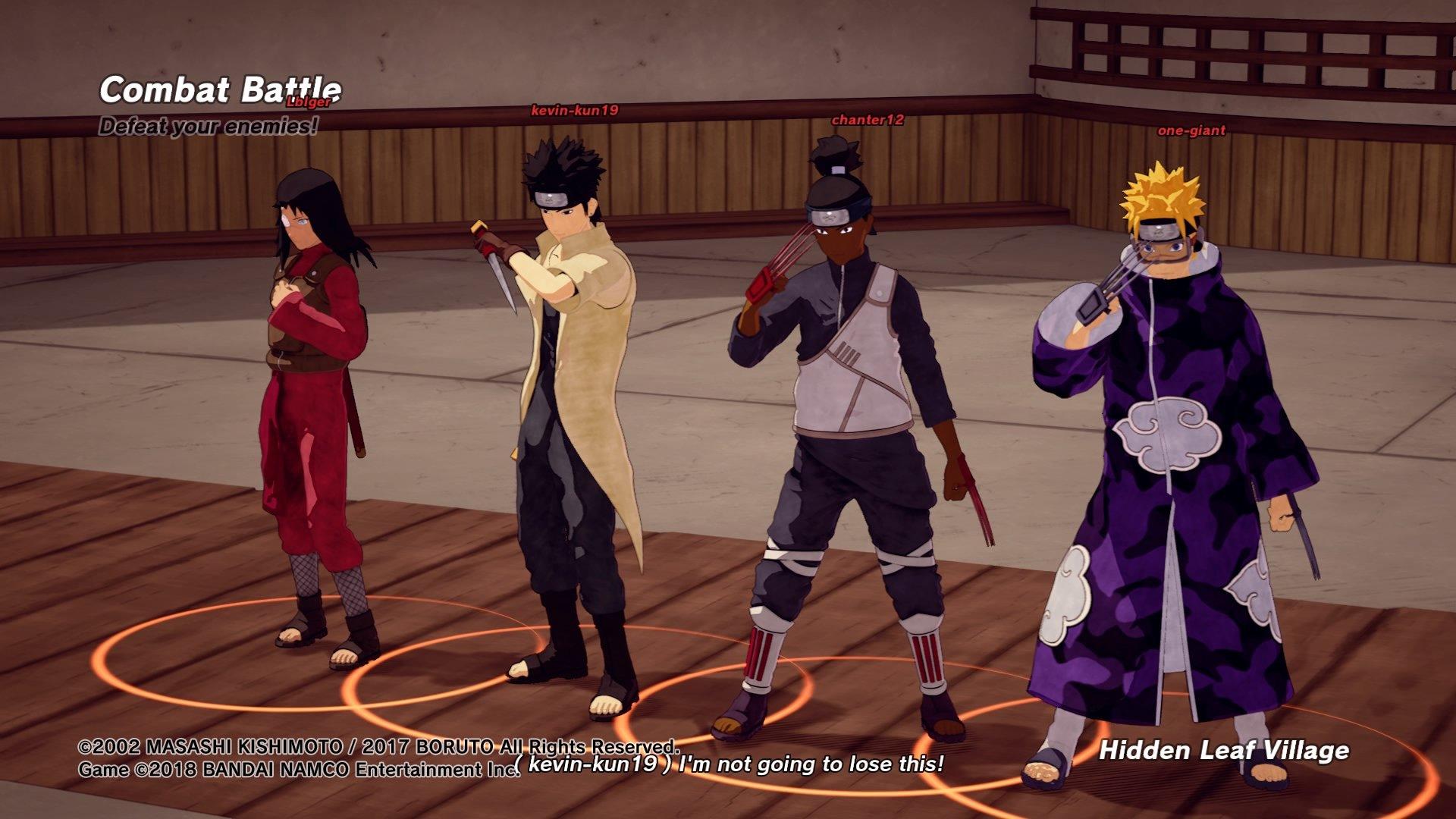 Shinobi Striker Jutsu List