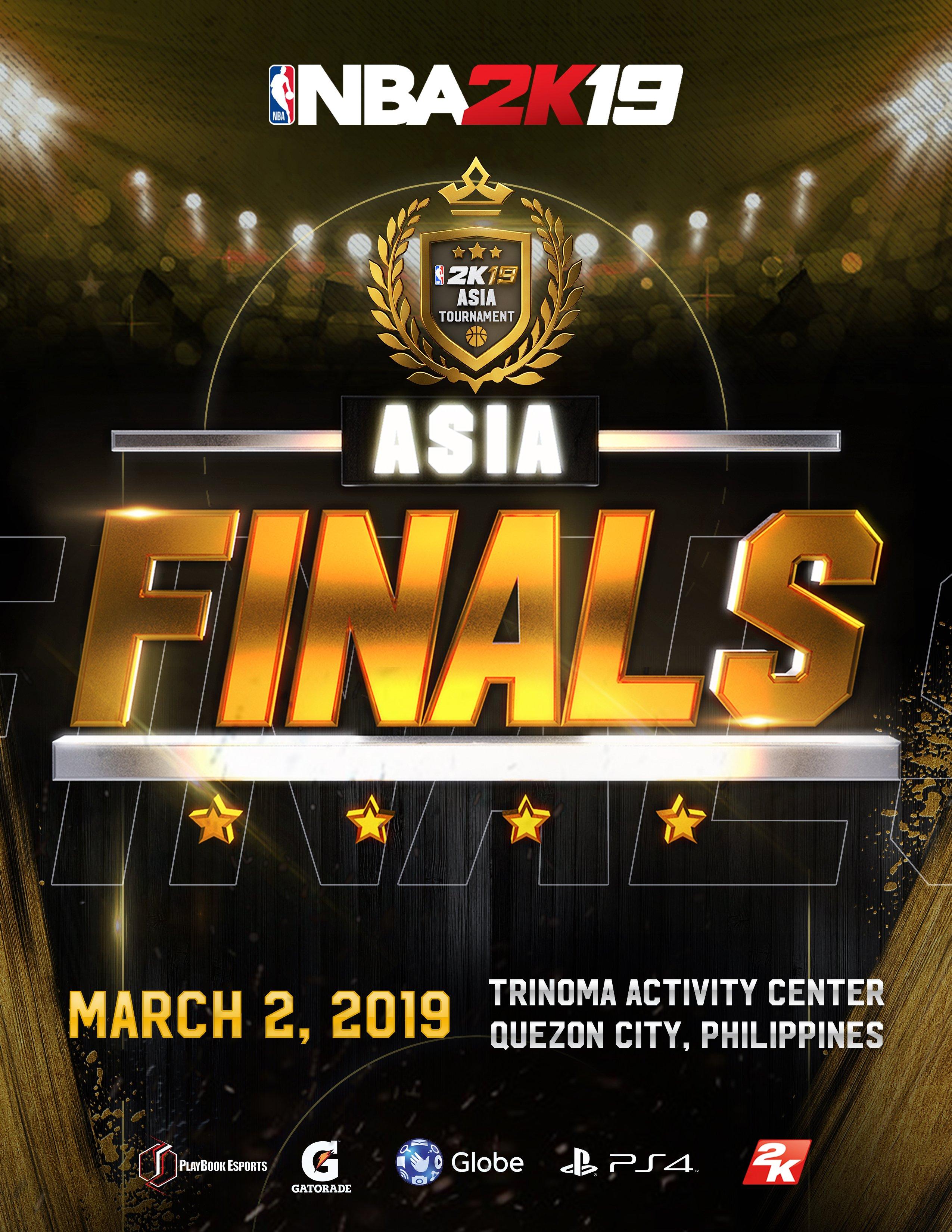 NBA 2K19 Asia Finals Happening This Saturday