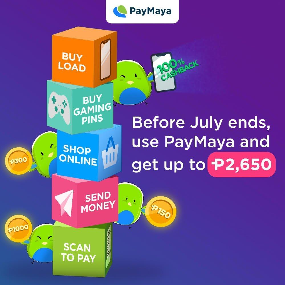 paymaya deals