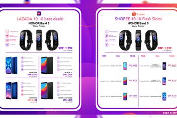 Honor Shopee 10 10 Sale Dageeks Com