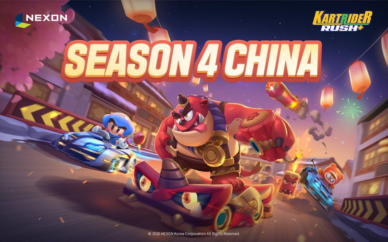 KartRider Rush+ Season 4 Poster