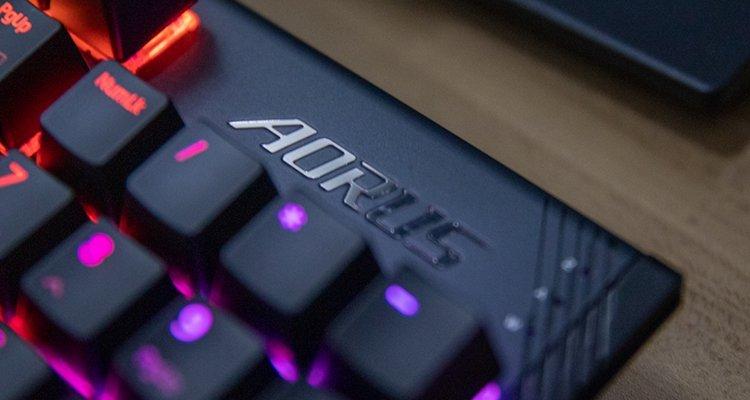 Gigabyte Aorus K1 Keyboard Review Header Image