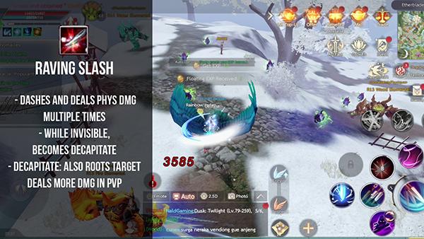 Perfect World Mobile Assassin Guide - Raving Slash