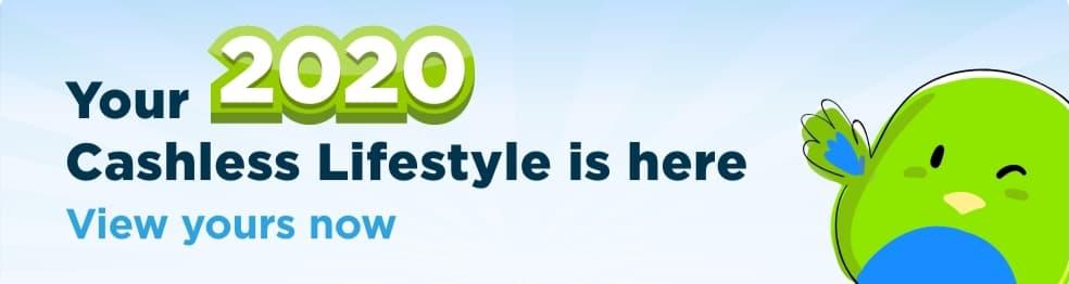 2020 Cashless Lifestyle Report Banner