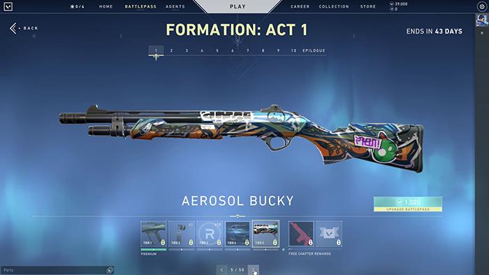Aerosol Bucky Skin