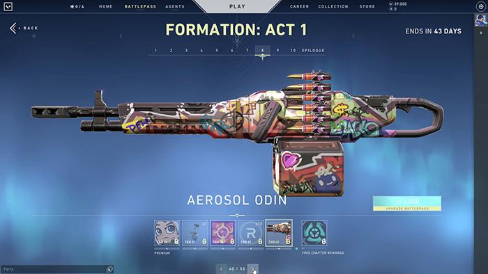 Aerosol Odin Skin