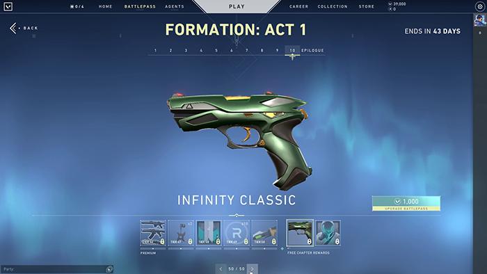Infinity Classic Skin