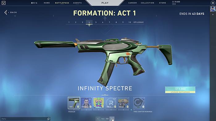 Infinity Spectre Skin