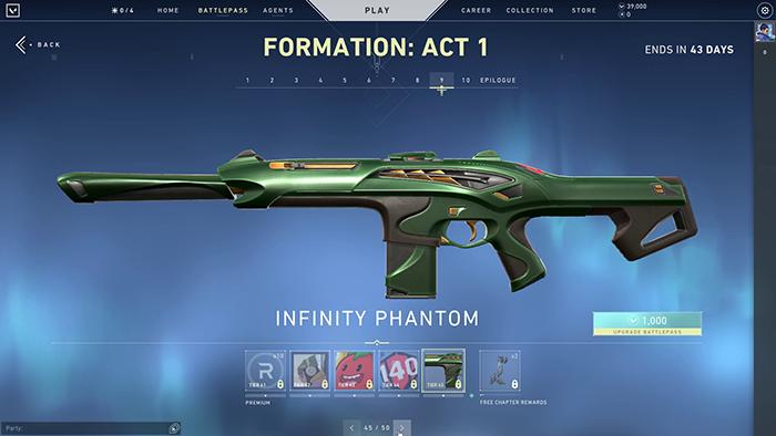 Inifnity Phantom Skin