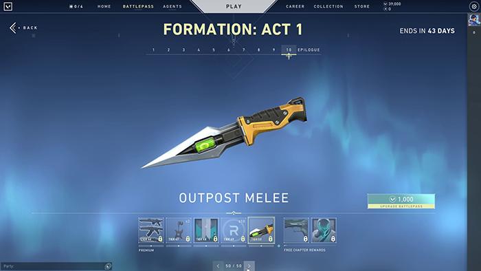 Outpost Melee Skin