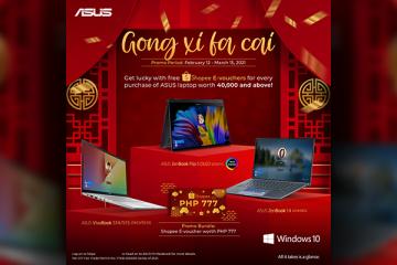 ASUS x Shopee E-Voucher Gong Xi Fa Cai Header Image