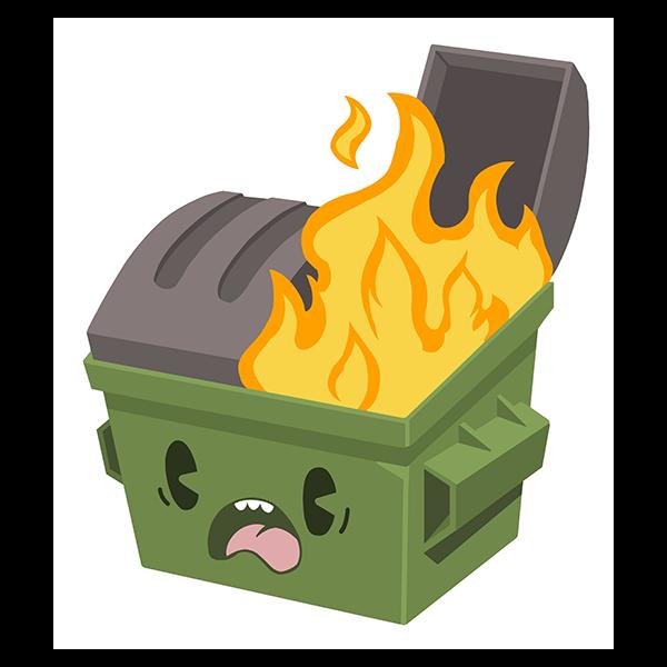 Dumpster Fire Spray