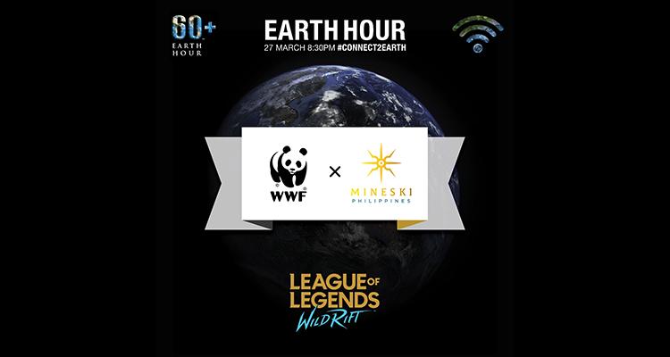 Earth Hour x WWF x Mineski x WIld Rift Header Image