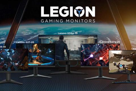 Lenovo Legion New Monitors Header Image