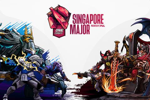 Singapore Dota 2 Major Presented by PGL Header Image