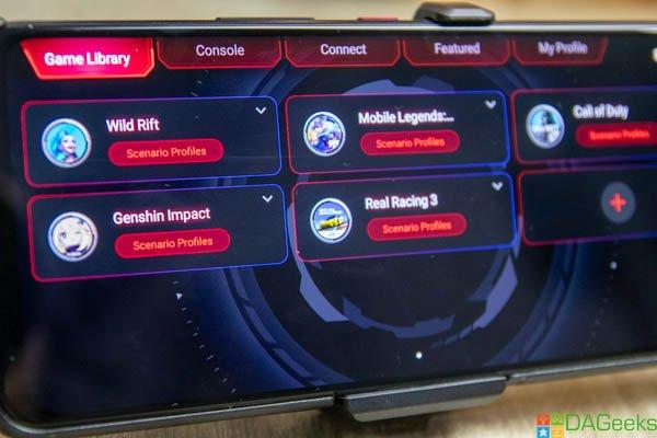 ROG Phone 5 Review Scenario Profiles