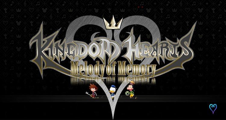 Kingdom Hearts Melody of Memory Review Header Image