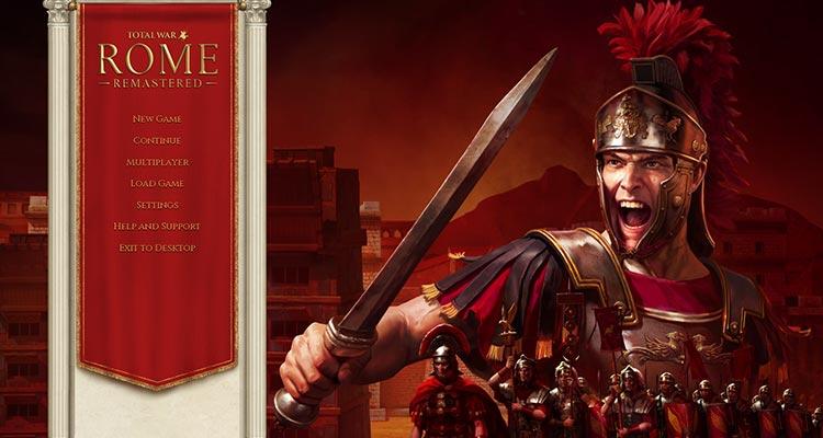 Total War Rome Remastered Header Image
