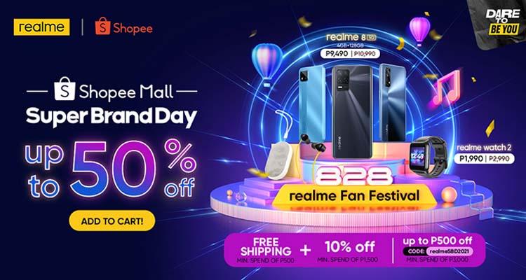 realme Super Brand Day Header Image