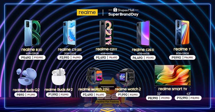 realme Super Brand Day Sales